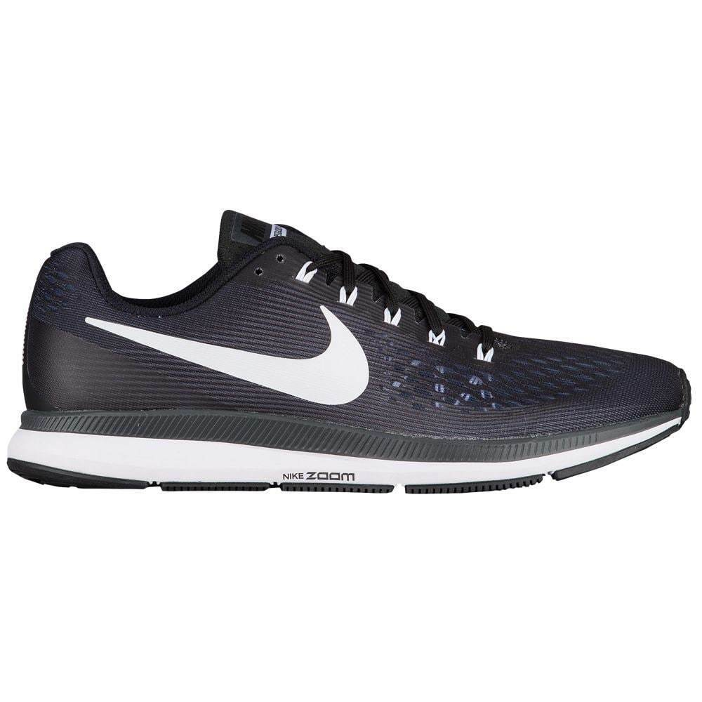 Nike Air Zoom Pegasus 34 Mens 880555-001 Black White Running Shoes Comfortable Comfortable and good-looking