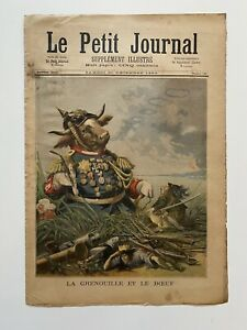 Supplement-Illustre-Le-Petit-Journal-30-12-1893-N-162-GRENOUILLE-ET-LE-BOEUF