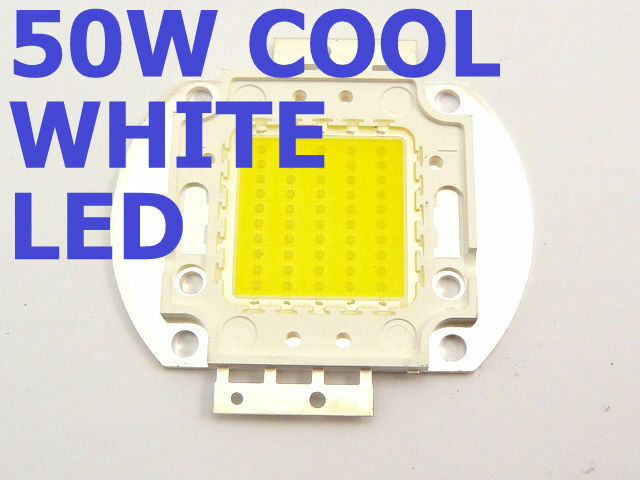 1 x 50W WHITE LED Lamp Chip 5500-6000K Bright Light Bulb High Power