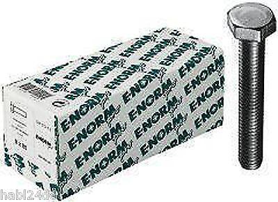 verzinkt Schrauben M12x20 Sechskantschrauben DIN 933 galv M12x100