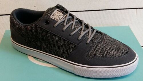 Men/'s Animal Easton FM6WJ003 Grey Lace Up Skate Trainers