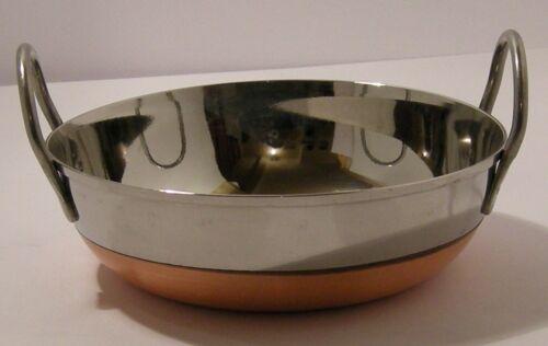 "Frying Pan s//s Copper Bottom 8/""//17.1cm 5/""//13cm Deep flat base Guaranteed quality"