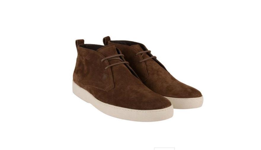Para Hombre TOD Bajo Gamuza Marrón Chukka Chukka Chukka Con Cordones bootlike zapatos Reino Unido 10/EU44  - 5ce776