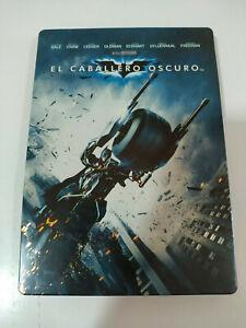 Batman el Cavaliere Christopher Nolan 2x DVD Steelbook Spagnolo English