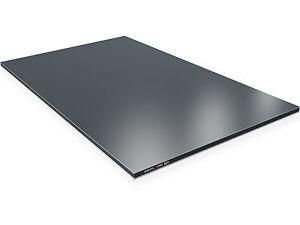 aluverbundplatte 3mm anthrazit ral7016 verbundplatte aus aluminium u kunststoff ebay. Black Bedroom Furniture Sets. Home Design Ideas