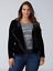 Lane-Bryant-Velvet-Moto-Jacket-Womens-Plus-18-20-Black-Spring-Fall-2x thumbnail 1