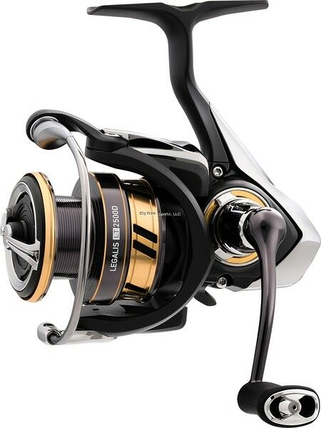 NEW Daiwa Legalis LT Spinning Reel, Carbon Light Body, 5.2 1 LGLT3000D