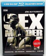 Sex Murder Art: Films Of Jorg Buttgereit Blu-ray NEW & SEALED COLLECTOR'S Ed