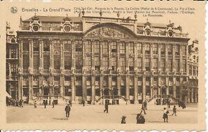 PC37846 Bruxelles. La Grand Place. Cote Sud Est. Maisons de la Bourse. La Collin