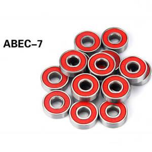 8-ABEC-7-Skateboard-Bearing-Skate-Longboard-Rollerblade-Wheel-Truck-with-7Balls