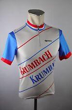 Gonso vintage Radtrikot cycling jersey Krumbach Rad Trikot Gr. S BW 48cm Z10