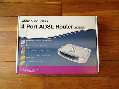 Allied Telesis - 4-port Adsl Router / At-ar256e