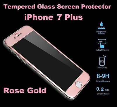 detailed look dace6 20f75 Anti-Shattered Tempered Glass Screen Protector For Apple iPhone 7 PLUS ROSE  GOLD 7426940870887 | eBay