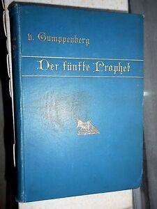 Hanns-von-Gumppenberg-Der-fuenfte-Prophet-psychologischer-Roman-1895-Oln
