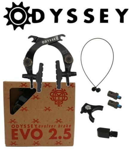 Odyssey Evolver 2.5 BMX Bike U-Brake Front or Rear Black or Silver