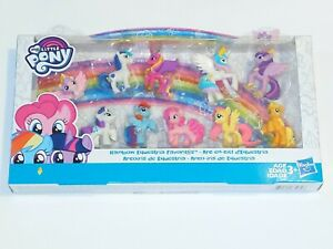 My-Little-Pony-Rainbow-Equestria-Favorites-Collection-10-2-5in-Mini-Figures-NIB