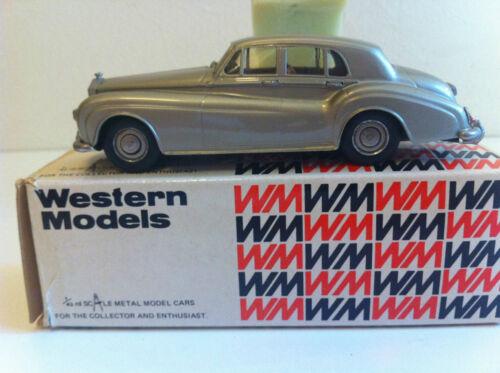 Western Models - Wms 48 Rolls Royce Silver Cloud Iii 1964 En Boîte D'origine