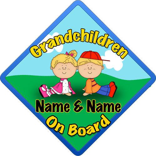 Nietos de firmar como baby//child a bordo boy//gir