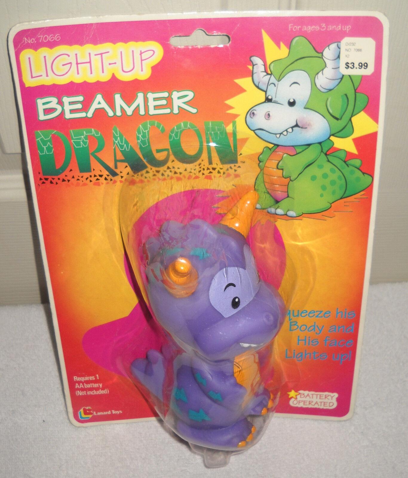 9394 Raro nrfc Vintage Lanard Luz Beamer Dragon