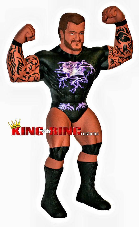 Randy Orton lucha libre WWF Ljn Personalizado Figura Wwe Rara Vintage RKO