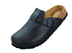 Schuhe-BETULA-Clog-Pantolette-ROCK-174173-Birko-Flor-Cordoba-Braun-Weichbett