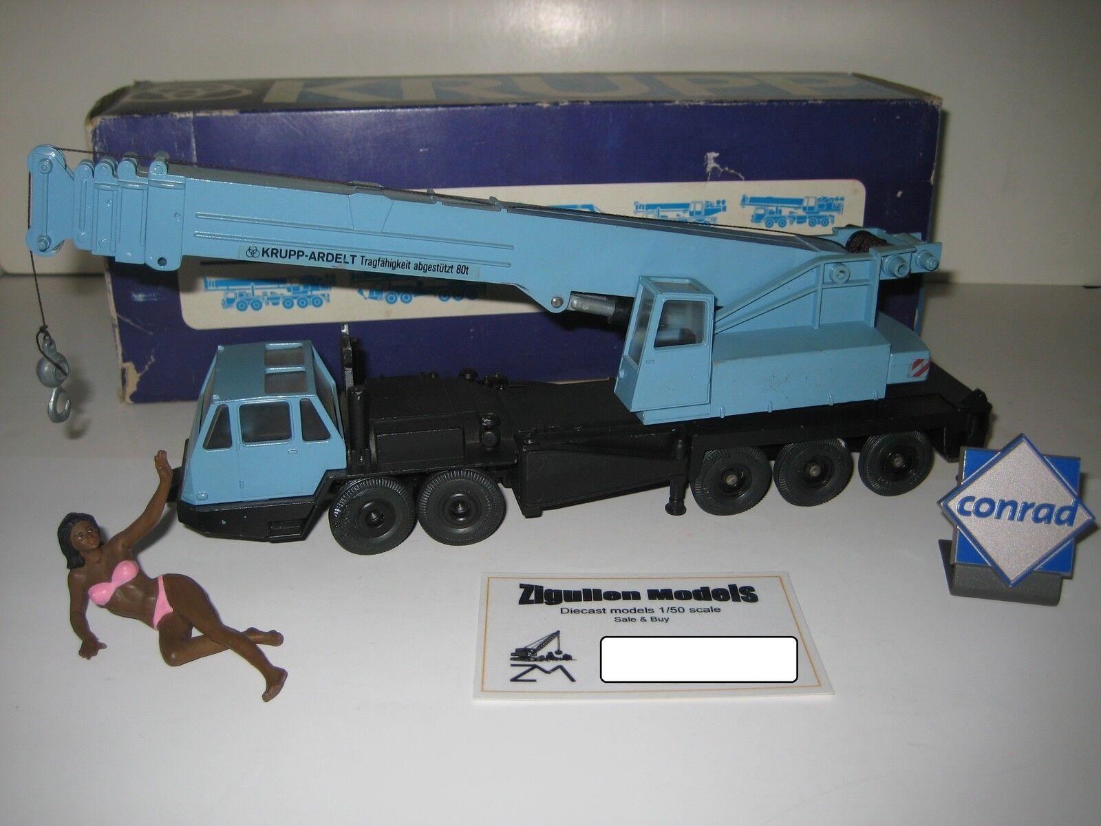 Krupp Ardelt GMT 80 gru auto blu #3070.2 Conrad 1:50 OVP