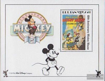 Bhutan Block178 Unmounted Mint / Never Hinged 1989 Walt-disney-fig Micky Maus Less Expensive