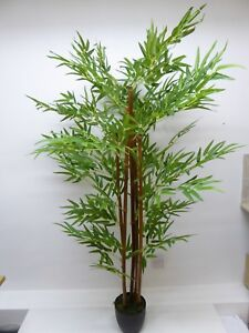 Image Is Loading Large Artificial Bamboo Tree 5ft 1 5m Outdoor