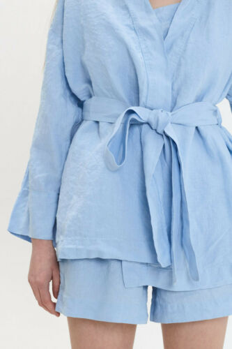 linen pants and sleepwear Shorts Linen pajama set