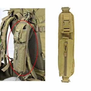 Tactical Molle Accessory Pouch Backpack Shoulder Strap Bag Hunting Tools  TAN | eBay