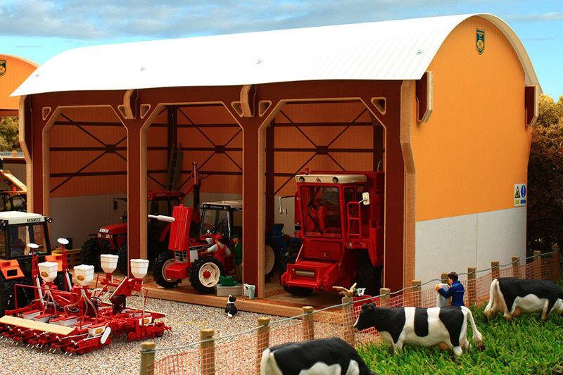 De brindilles Dutch Barn-Tracteur Shed - 1 32 Scale FARM TOYS BT8980