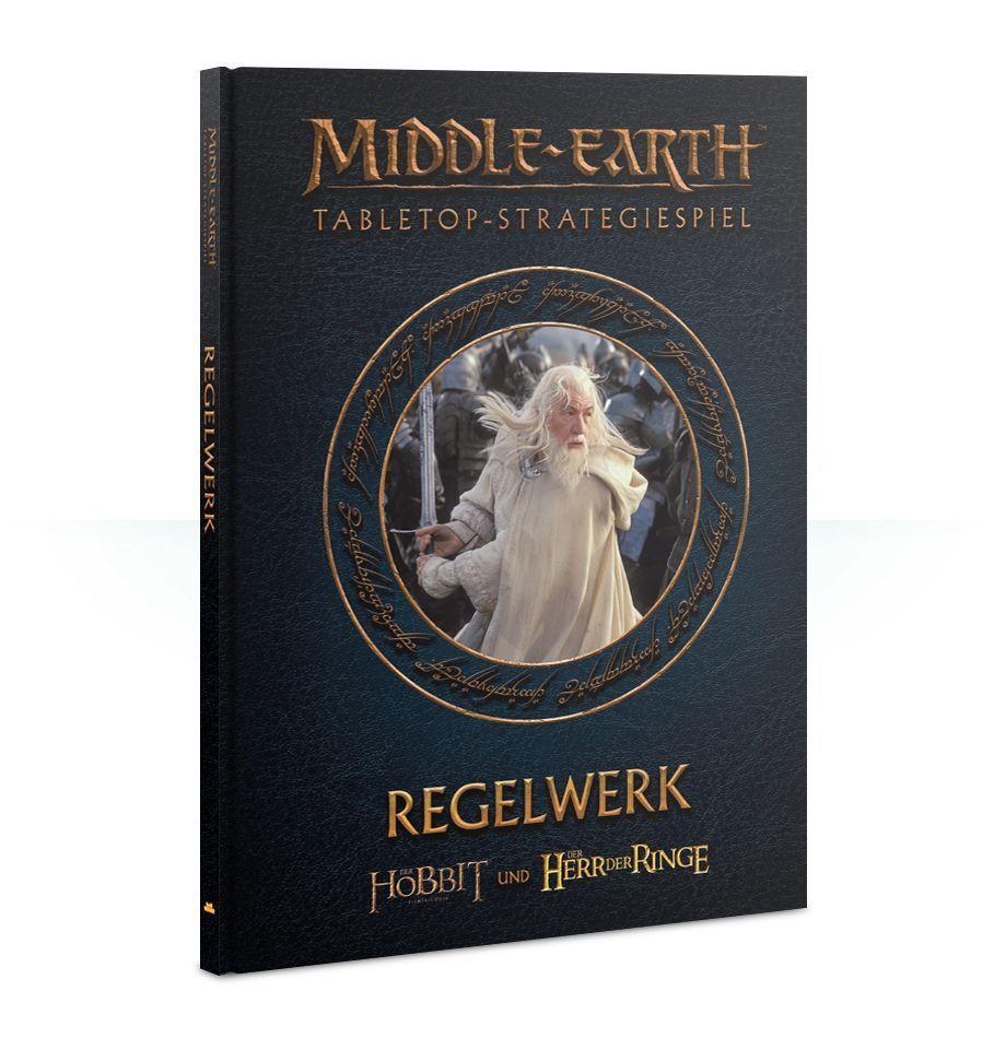 Medio Earth Libro de Reglas (Alemán) Games Workshop el Señor los Anillos Hobbit