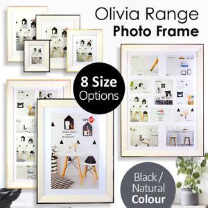 Olivia-Wooden-Photo-Frame-4X6-034-5X7-034-6X8-034-8X10-034-A4-A3-11X14-034-40X50CM-Collage