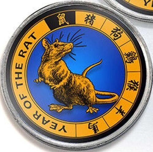 Jammu /& Kashmir 1 rupee 2017 Rat Lunar Chinese Zodiac Horoscope unusual coin