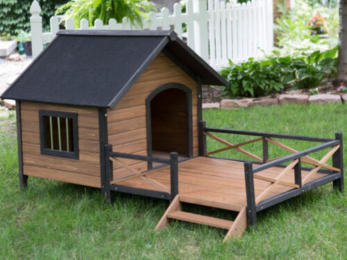 Luxury Dog Houses spoil your dog with a luxury dog house