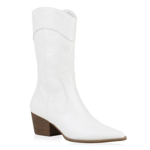 Damen Cowboystiefel Gefütterte Western Stiefel Cowboy Boots 832000 Schuhe