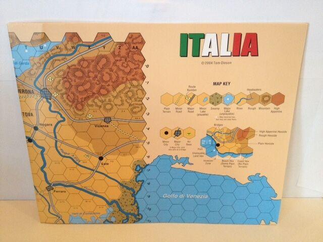 il più recente Italia & Sicilia (Anzio 7th Ed) 2 2 2 Maps, Counters Unpunched, PDF Rules &Play Aids  a buon mercato