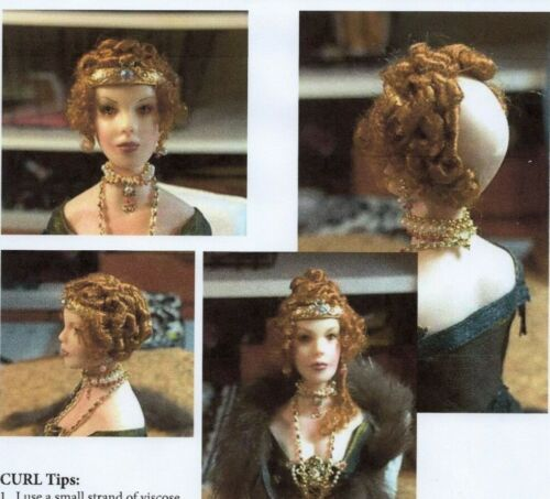 1:12 scale Miniature Doll Art Tutorials ~ Patterns ~ Clothes//Hair///& more AYN