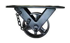 Cast Iron 5 Wheel Metal Wheel Industrial Furniture Metal Wheel Coffee Table