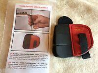 Wilson Black Widow Leather 3 Finger Under Shooting Tab Rh X-large