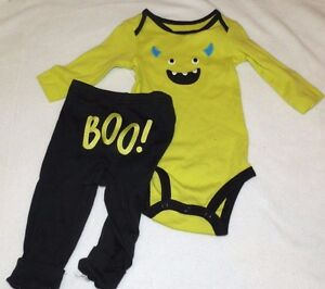 01f4c9741 New Boys size 6 Months Monster Halloween Outfit 2 piece Set BOO ...