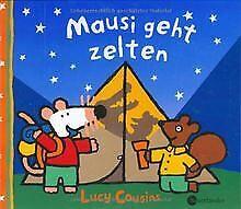 Mausi geht zelten von Lucy Cousins   Buch   Zustand gut