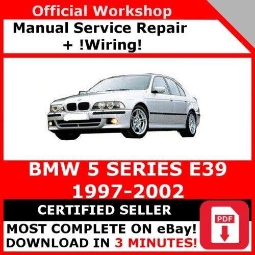 bmw workshop manual e39
