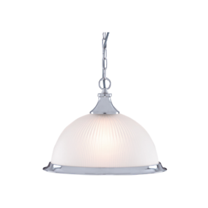 Details About Searchlight American Diner Ceiling Pendant Light In Satin Silver Finish 1044