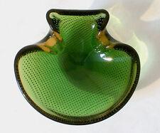 """50s Murano glass bowl """"bullicante"""" Glas Schale wohl Seguso bol verre annees 50"""