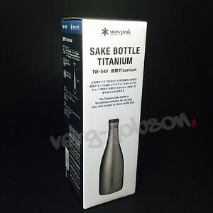 snow peak sake barrel Titanium TW-540 Snow Peak