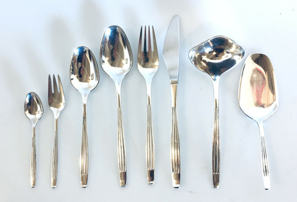 Athene bestik - Dansk Krone Sølv