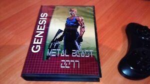 Sega-Genesis-Mega-Drive-Metal-Blast-2277-Game-2019