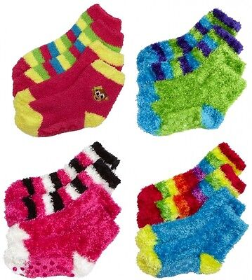 NWT Justice Girls Dreamy Soft Slipper Socks 2Pair Set U Pick 13-5 5-9 NEW