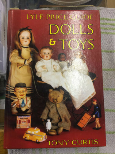1 of 1 - Lyle Price Guide: Dolls and Toys Tony Curtis